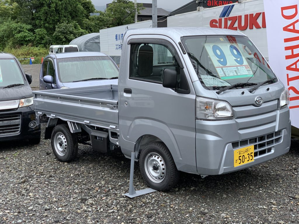 ハイゼット トラック 4WD シルバー